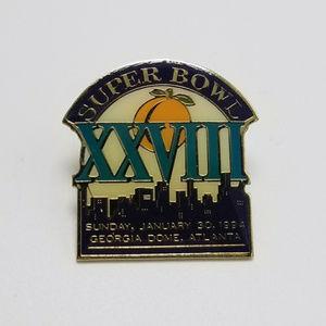 SUPER BOWL XXVIII Pin NFL Pin Souvenir Pin